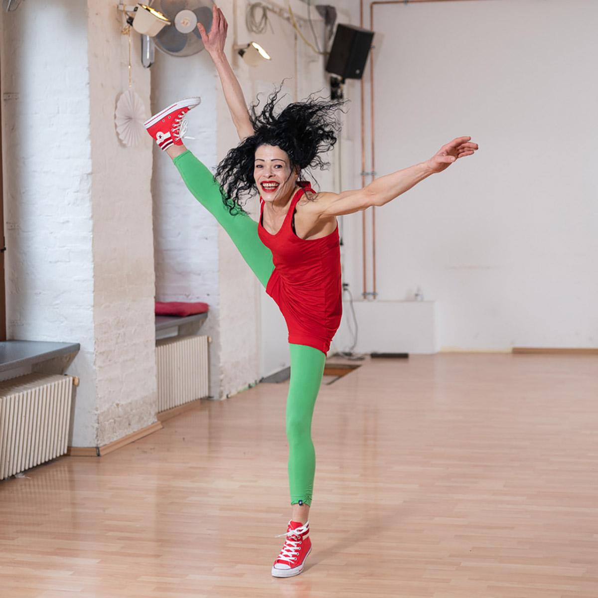Marie Juana Jimenez Flexibility